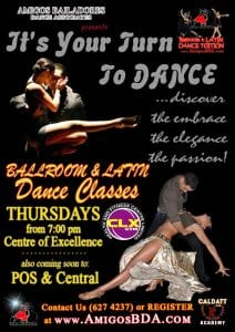 Ballroom & Latin Dance Classes - THURSDAYS @ CLX Gym - Level II - Center of Excellence (COE) | Tunapuna | Trinidad & Tobago