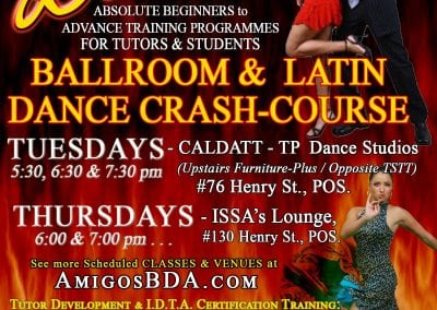 ABDA CRASH-COURSE - Ballroom & LATIN Dances