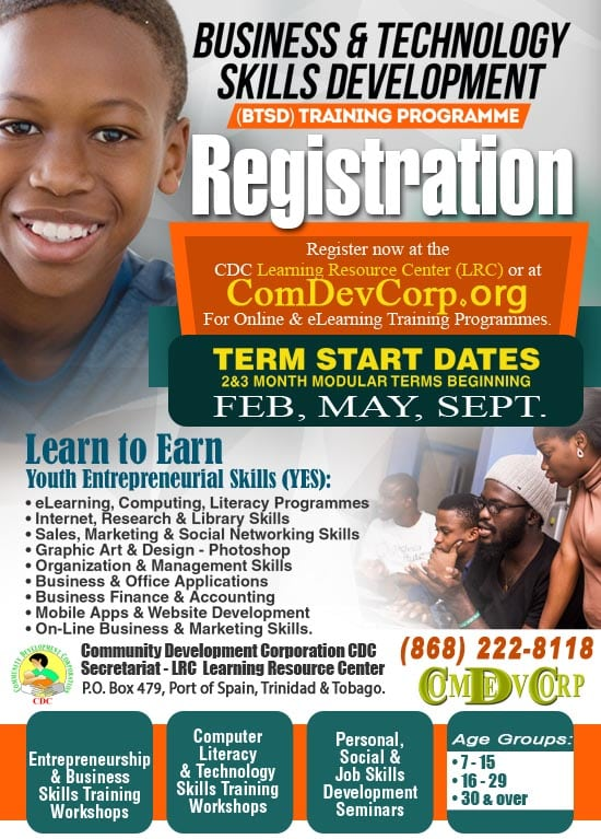 CDC - ComDevCorp Technology Skills Training Programme