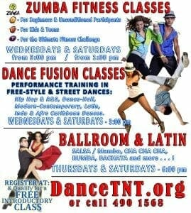 Community Cultural Dance-Fusion - MRHC @ CALDATT POS Central Studios (Upstairs Furniture Plus) - #76 Henry Street, POS. | Port of Spain | Trinidad & Tobago