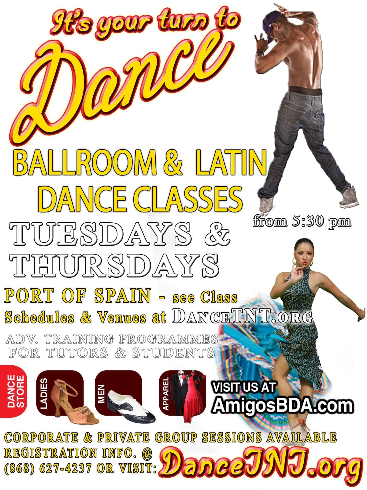 Ballroom & Latin Dance-Mix Classes