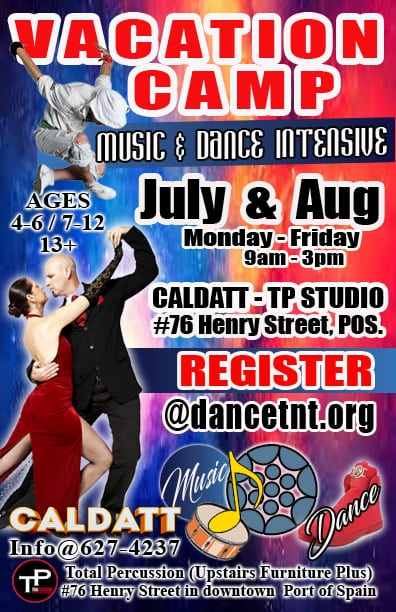 CALDATT - MUSIC & DANCE - MD Intensive Vacation CAMP.