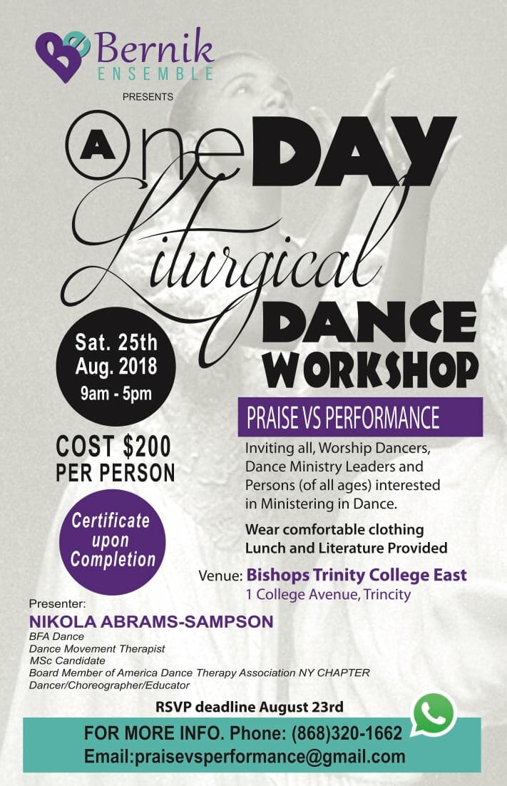 Bernik Liturgical Dance Workshop