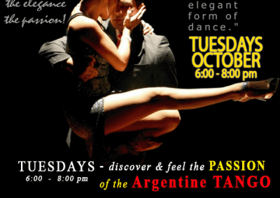 Discover the PASSION of the Argentine TANGO Dance Classes