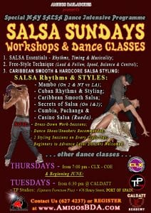 Ballroom & Latin Dance Classes - SUNDAYS @ CLX Gym - Level II - Center of Excellence (COE) | Tunapuna | Trinidad & Tobago